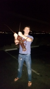 Biggest bug from my first night of lobster season.